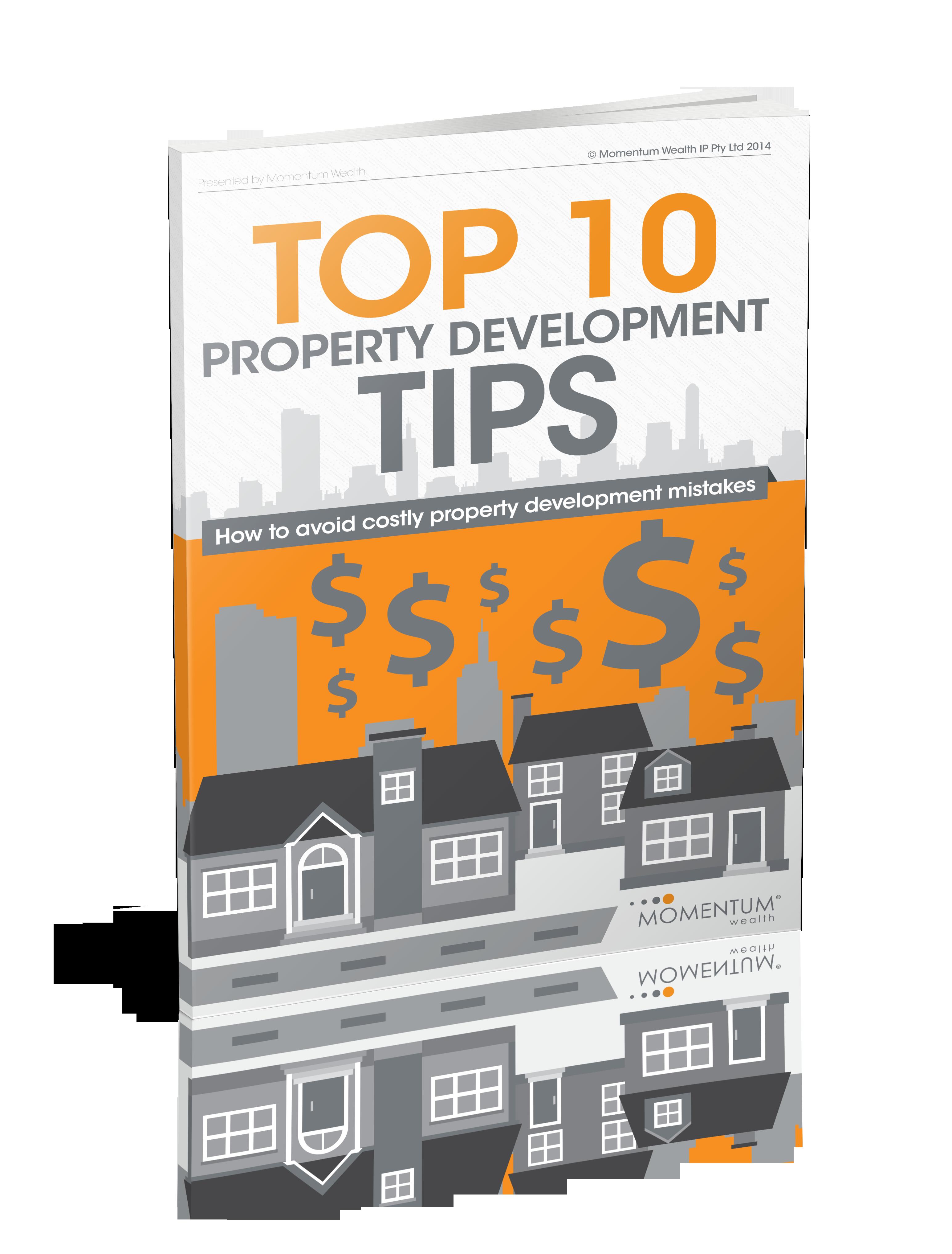 Top 10 Property development tips