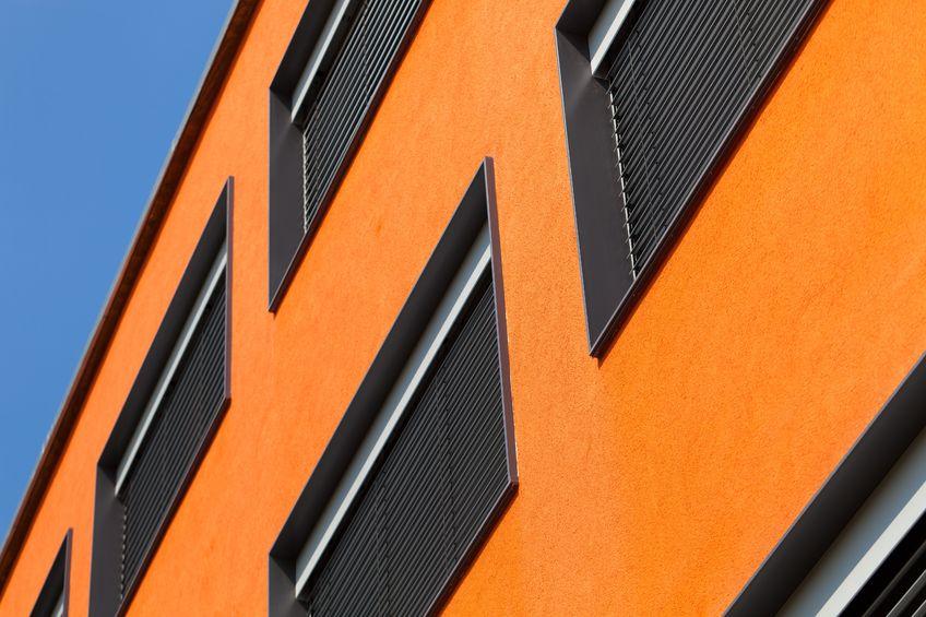 commercial building orange